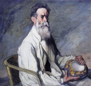 Retrato de Daniel Zuloaga por su sobrino Ignacio / Museo Zuloaga de Segovia