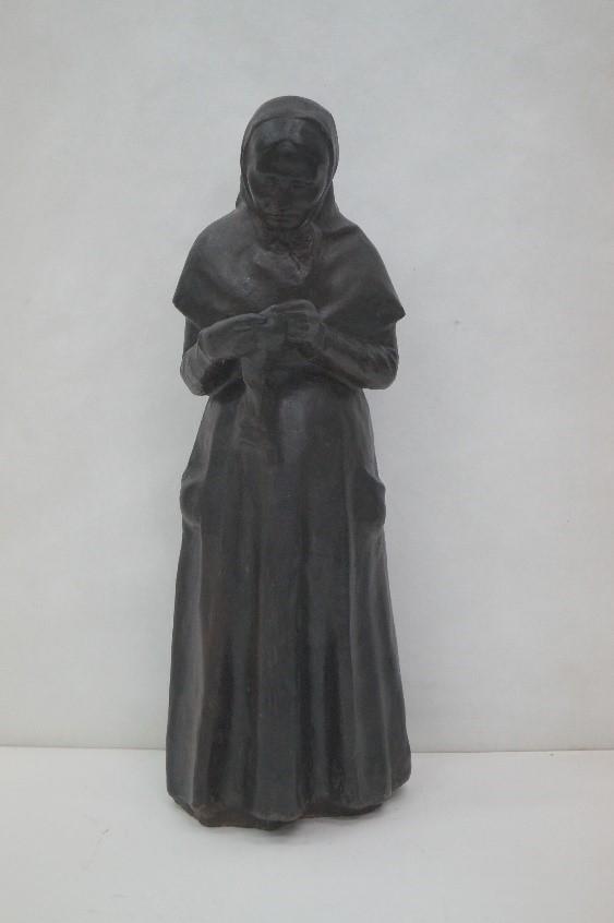Estat de l'escultura de Violet un cop restaurada / Museus de Sitges