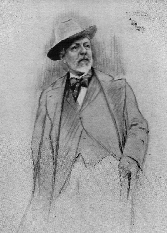 Retrat de Felip Masó i de Falp. Henri Edmond Rudaux (1912) / Museu de Maricel