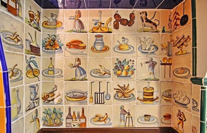 Detall de la cuina de la casa Rocamora / Museus de Sitges