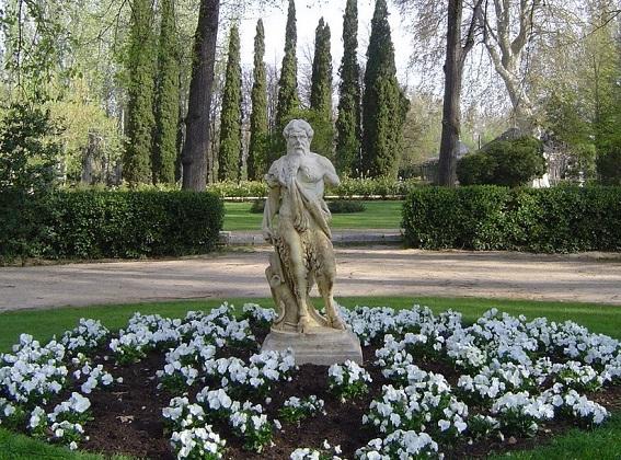 Fauno, autor desconocido, Jardín del Príncipe (Aranjuez)